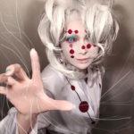 """【芸能】叶美香、最新コスは愛する『鬼滅の刃』累 狂気の瞳で襲いかかる""""アメージング""""な出来栄えに  [湛然★]"""